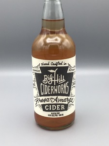 Big Hill Ciderworks - Fresa Amarga (16.9oz Bottle)
